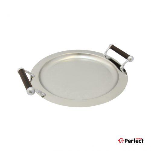 سینی استیل دایره Perfect home مدل 1415