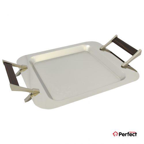 سینی استیل مربع Perfect home مدل ۱۳۰۵