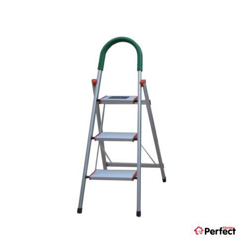 نردبان آلومینیومی 3 پله Perfecthome